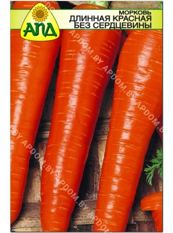 Морковь длинная красная без сердцевины (Daucus carota L.)