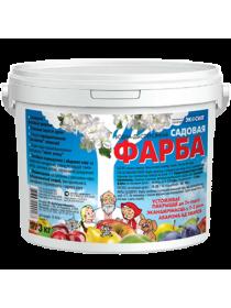 Краска садовая водно-дисперсионная Экосил 3 кг.