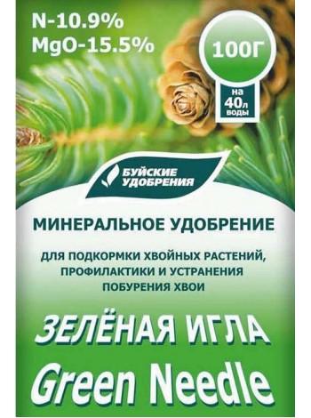 """Удобрение """"Зеленая игла"""". Пакет 100 гр."""