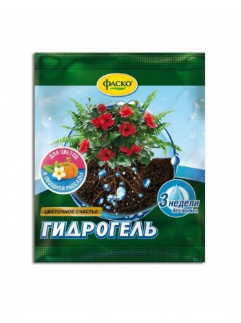 Гидрогель Фаско Цветочное счастье, Пакет 20гр.