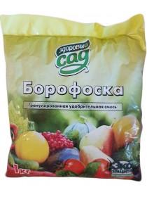 Здоровый сад минеральное удобрение Борофоска 1 кг.