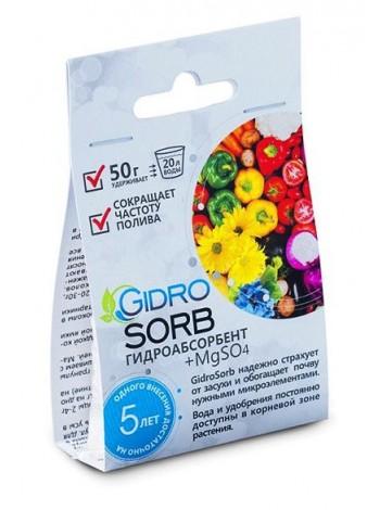Влагоудерживатель (гидроабсорбент) GidroSorb, 50 гр.