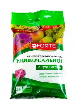 Удобрение универсальное BONA FORTE с цеолитами 2,5 кг