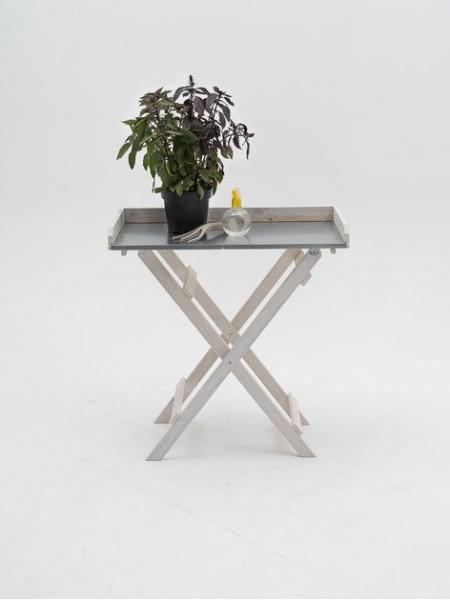 Стол для рассады складной СМ-13 белый